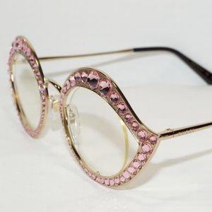 6b4dd3eceef Gucci Accessories - GUCCI CATEYE LIPS CRYSTAL SUNGLASSES GLASSES FRAME